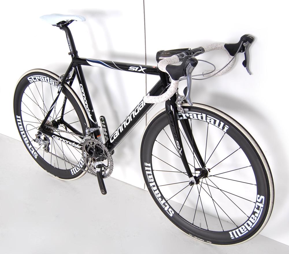 Six Carbon Road Bike New Carbon Deep Dish Race Wheels Shimano
