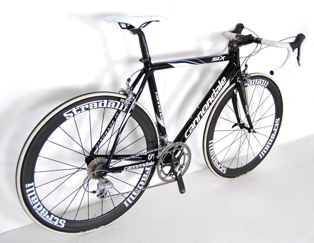 Cannondale Sytem Six Carbon Road Bike New Carbon Deep Dish Race Wheels