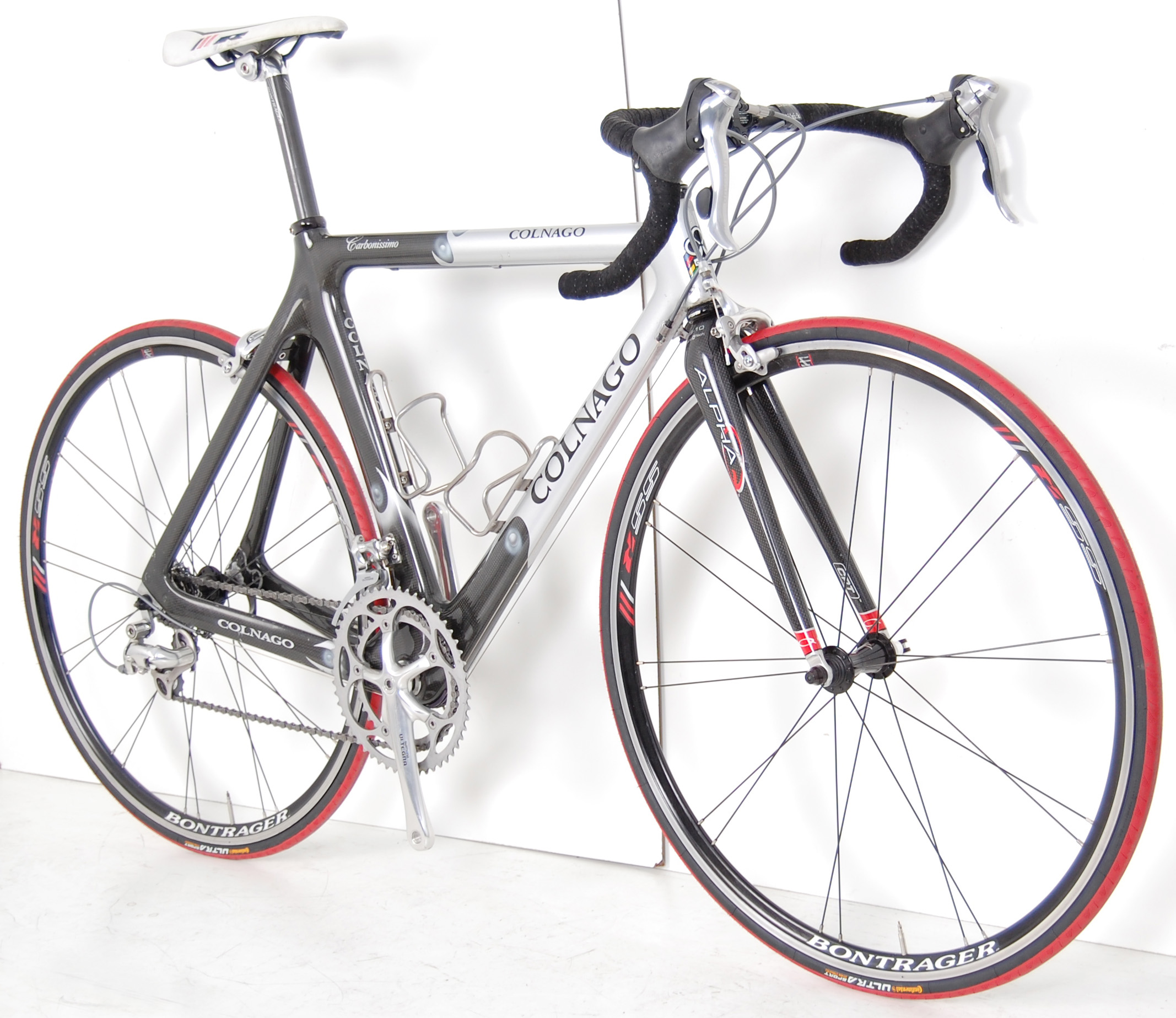 Colnago Carbon Road Bicycle Shimano Ultegra Race Bike Bontrager Wheels
