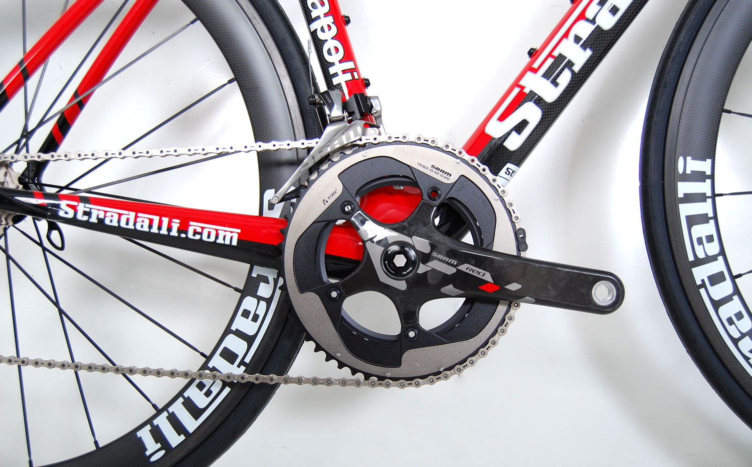 NAPOLI NEW SRAM RED FULL CARBON ROAD RACE BICYCLE WHEELS BB30 S