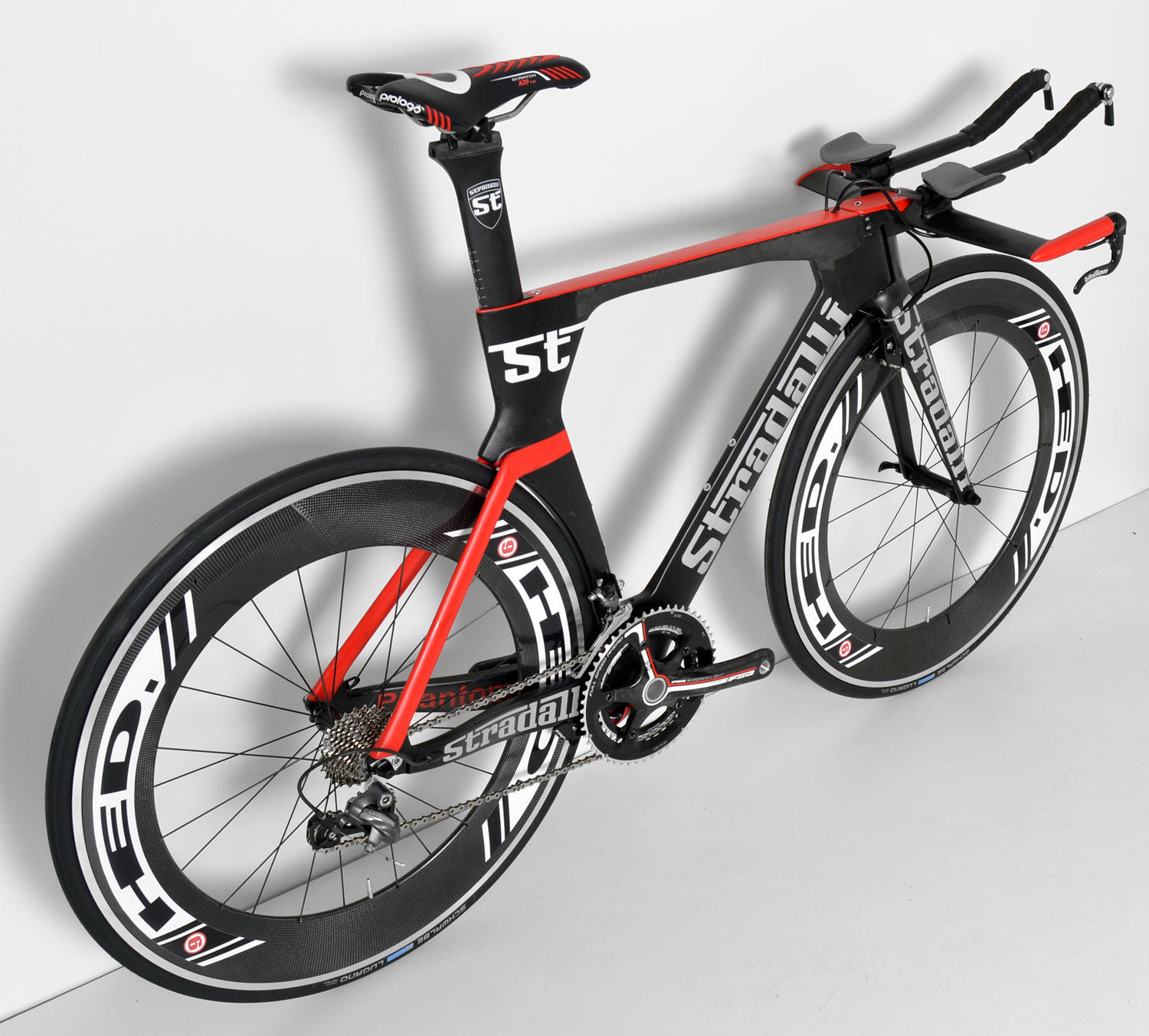 STRADALLI Carbon Fiber Tri Triathlon Time Trial Bike Bicycle Shimano