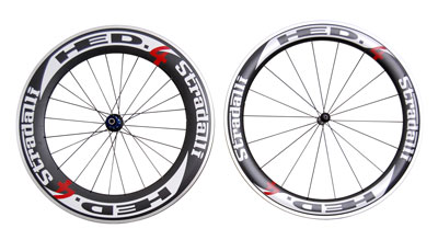 HED 4 Stradalli carbon bike wheels set 60mm 90mm