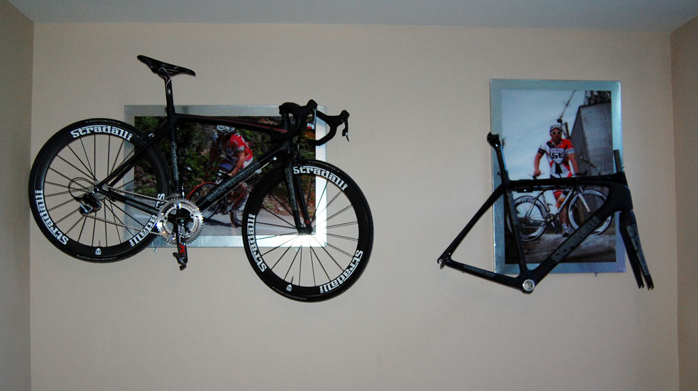 Custom Poster Bicycle Bike Rack Holder Bracket Wall