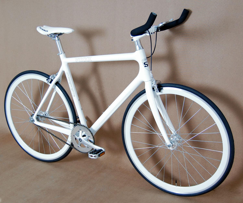 Stradalli Fixxx Carbon Track Bike Fixie Fixed Gear Bicycle Messenger