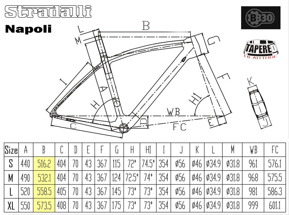 Stradalli Napoli Full Carbon Road Bike Race Bicycle
