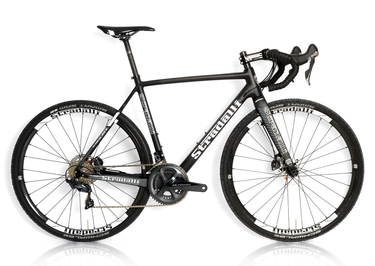 stradalli carbon gravel bike hydrolic disc brake shimano. Black Bedroom Furniture Sets. Home Design Ideas